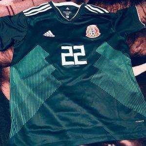best service 149fe 018cd Adidas Mexico jersey Hirving Lozano